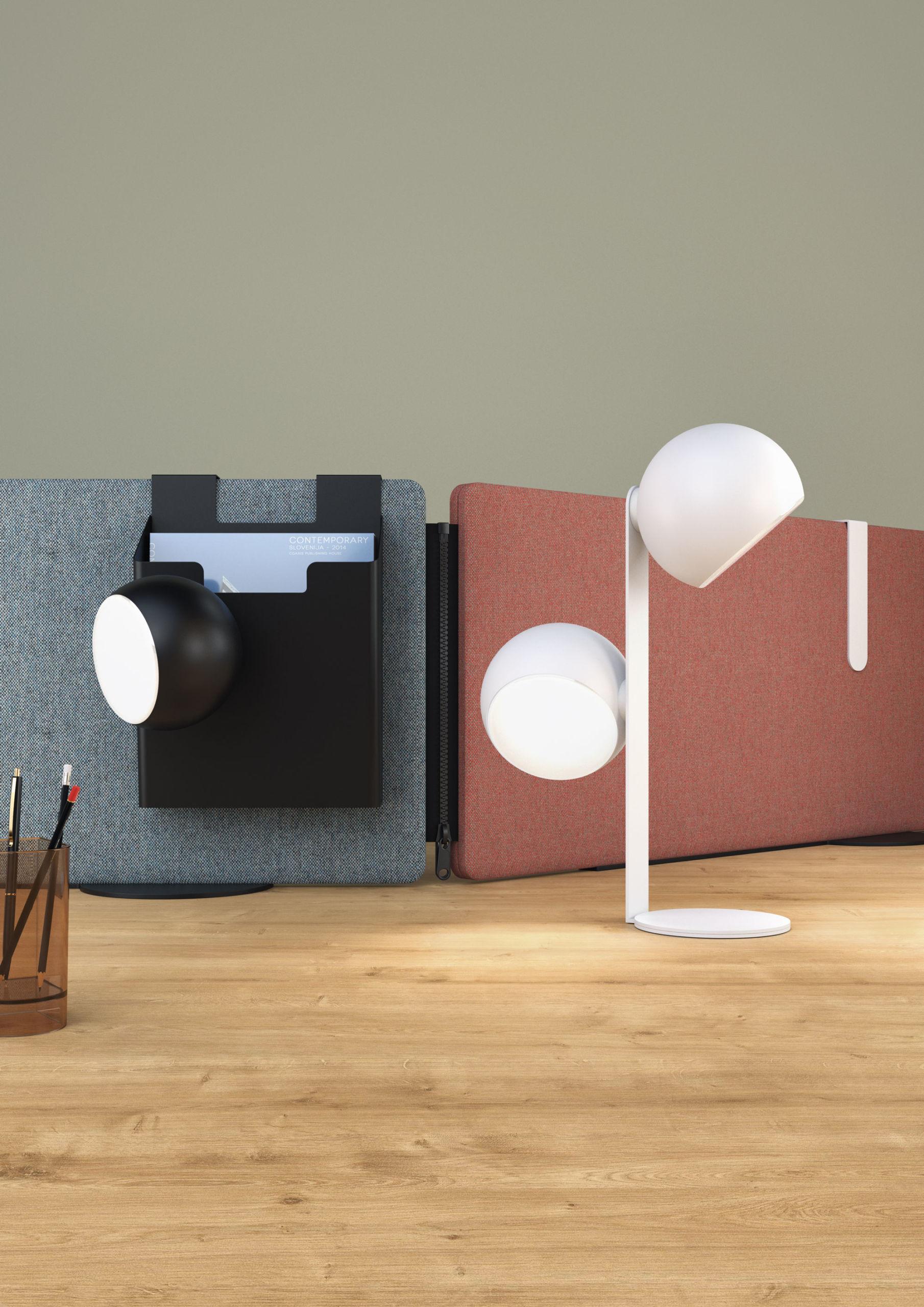 Lampe de bureau nomade