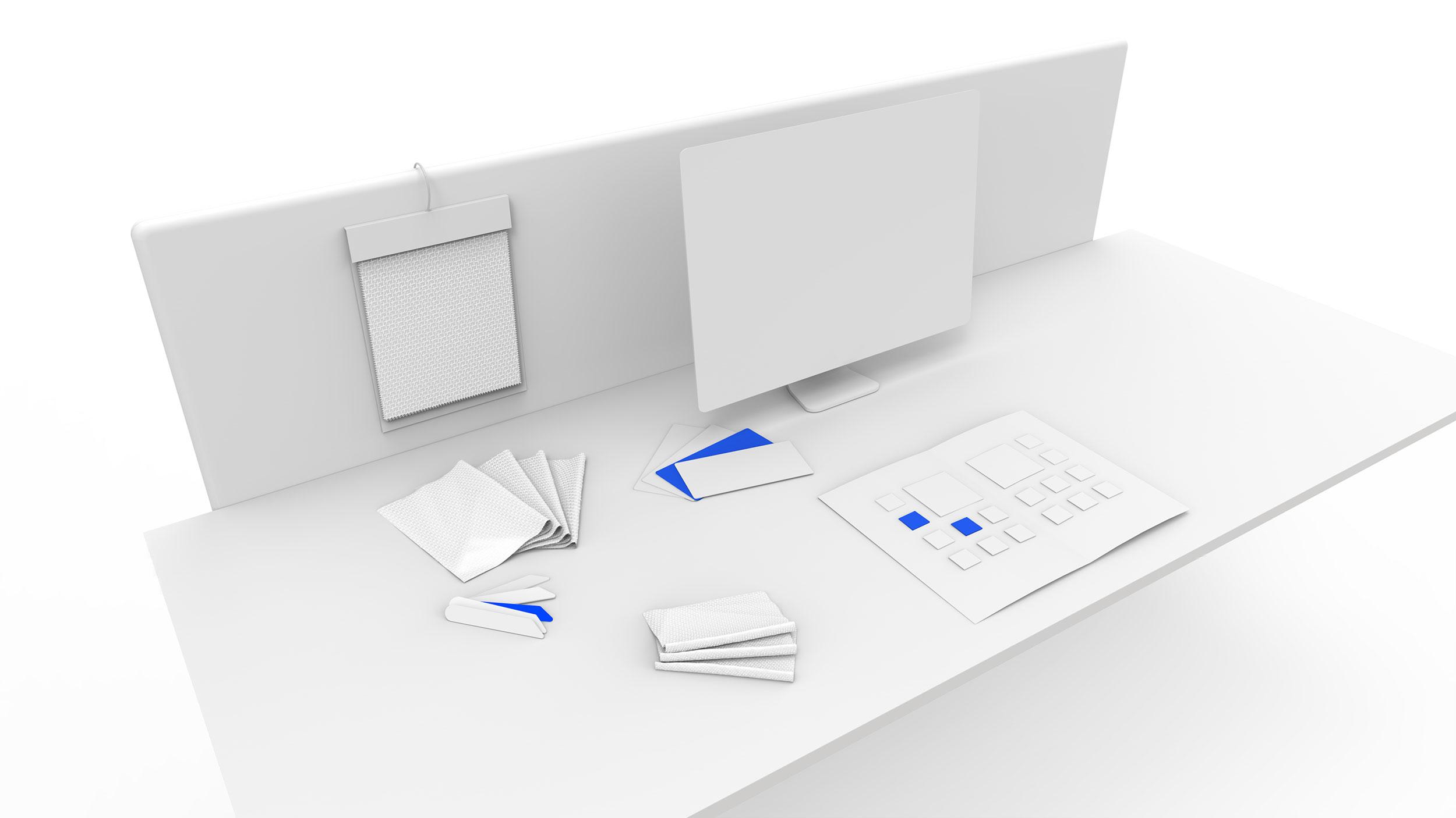 Modélisation 3D d'un espace de travail