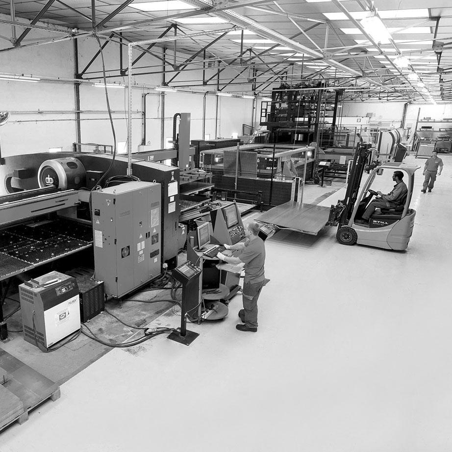 Une usine de CLEN